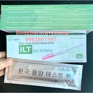 Combo 5 Bút Thử Thai ILT Test Korea tiện lợi nhanh chóng không cần dùng cốc, kết quả chính xác