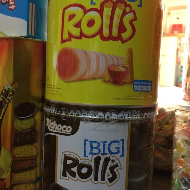 Bánh Big Roll hộp thiếc 330g - 3211765 , 895923866 , 322_895923866 , 55000 , Banh-Big-Roll-hop-thiec-330g-322_895923866 , shopee.vn , Bánh Big Roll hộp thiếc 330g