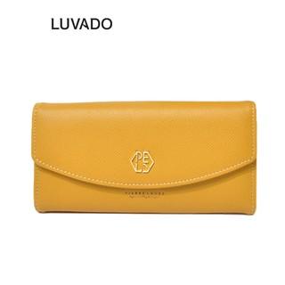 Ví nữ dài đẹp cầm tay thời trang PIERRE LOUES nhiều ngăn cao cấp đựng tiền LUVADO VD368 thumbnail