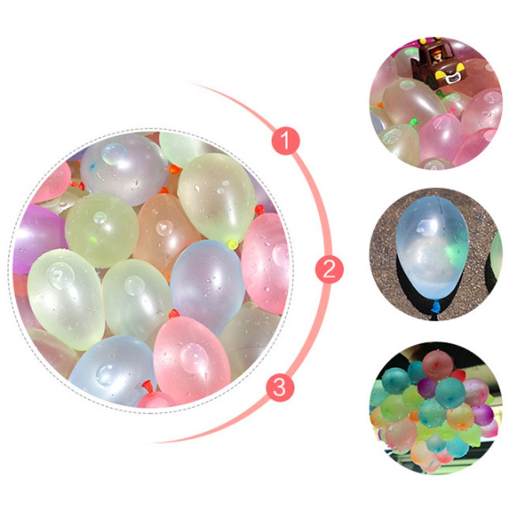 3 Bundle/pack Kids Summer Magic Beach Outdoor Party Self-sealing Funny Water Balloons