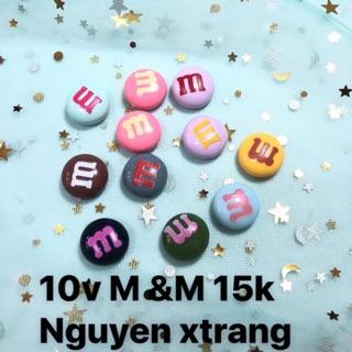 10 Viên Charm M&M – 15.000