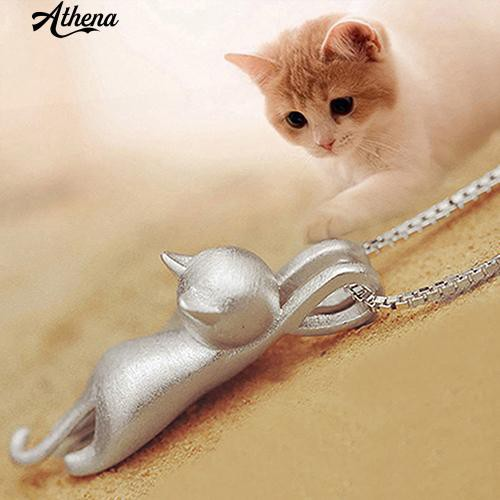 Dây chuyền bạc 925 mặt hình chú mèo thời trang cho nữ - 14558651 , 1567437373 , 322_1567437373 , 33000 , Day-chuyen-bac-925-mat-hinh-chu-meo-thoi-trang-cho-nu-322_1567437373 , shopee.vn , Dây chuyền bạc 925 mặt hình chú mèo thời trang cho nữ