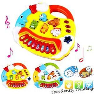 đồ chơi Đàn Piano Thú cho bé Mãcm99