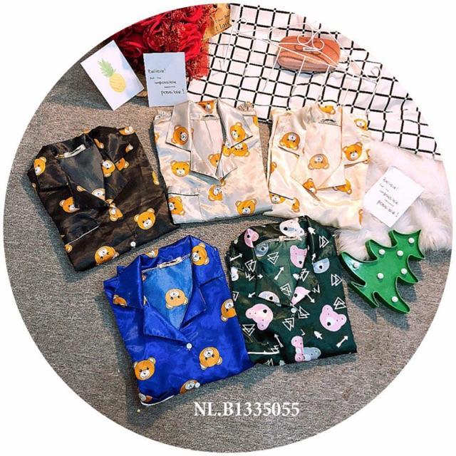 Sét bộ Pijama Thái Lan phi bóng hình thú - 3007148 , 1071050706 , 322_1071050706 , 70000 , Set-bo-Pijama-Thai-Lan-phi-bong-hinh-thu-322_1071050706 , shopee.vn , Sét bộ Pijama Thái Lan phi bóng hình thú