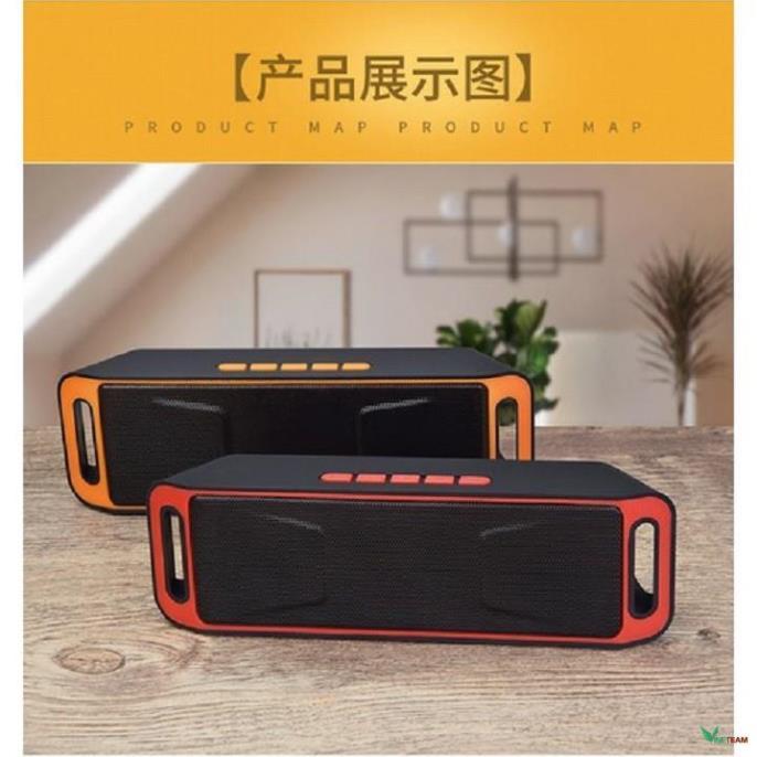 Loa Bluetooth Không Dây SC208 Máy Tính Mini Dual Loa Di Động Nhỏ Stereo Xe Hơi Loa Siêu Trầm Dùng Pin Cực Bền -dc1816