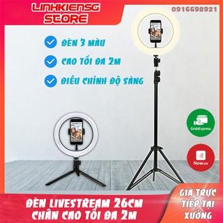 💡💡Đèn Led Live Stream ,livestream Hỗ trợ ánh sáng Chụp Ảnh, Make Up Trang Điểm, Chụp ảnh sản phẩm. 3 Chế Độ Sáng