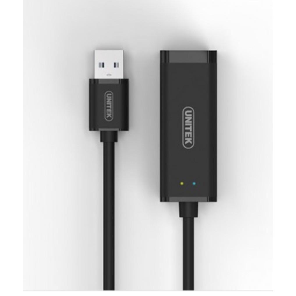 Cáp chuyền USB 3.0 sang Lan Unitek Y-3470BK