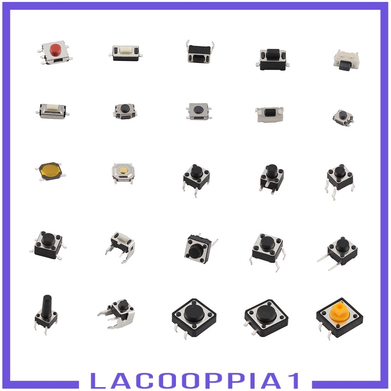 Nút Nhấn Microswitch Cho Máy Ghi Hình Điện Tử Lacooppia1