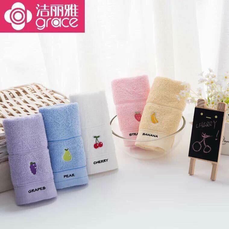 khăn mặt cotton