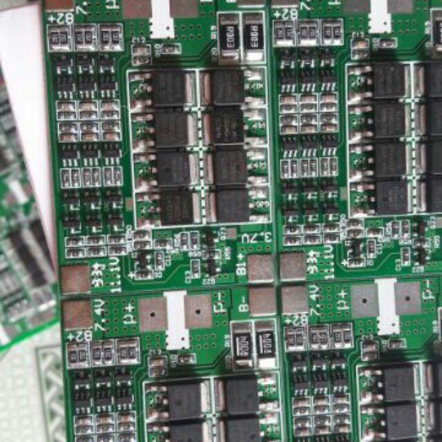 Mạch 3S 12,6V 35A mạch sạc cân bằng và bảo vệ tự khôi phục auto recovery