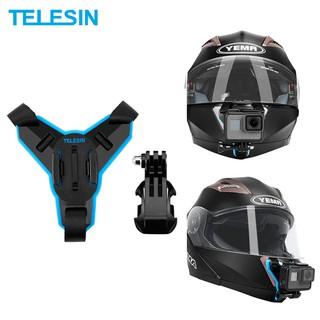 Mount gắn GoPro lên cằm nón bảo hiểm Full Face hiệu Telesin