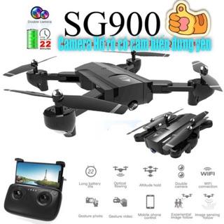 Flycam sg900 bản 2 camera HD pin đến 2200mah bay 22p có cảm biến đứng yên