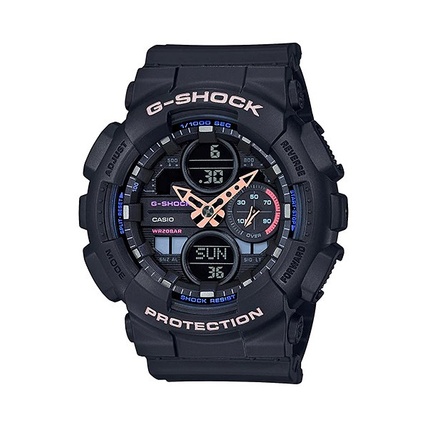 Đồng Hồ Casio Dây Nhựa G-SHOCK GMA-S140-1ADR Chính Hãng