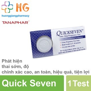 Que thử thai nhanh Quickseven (Hộp 1