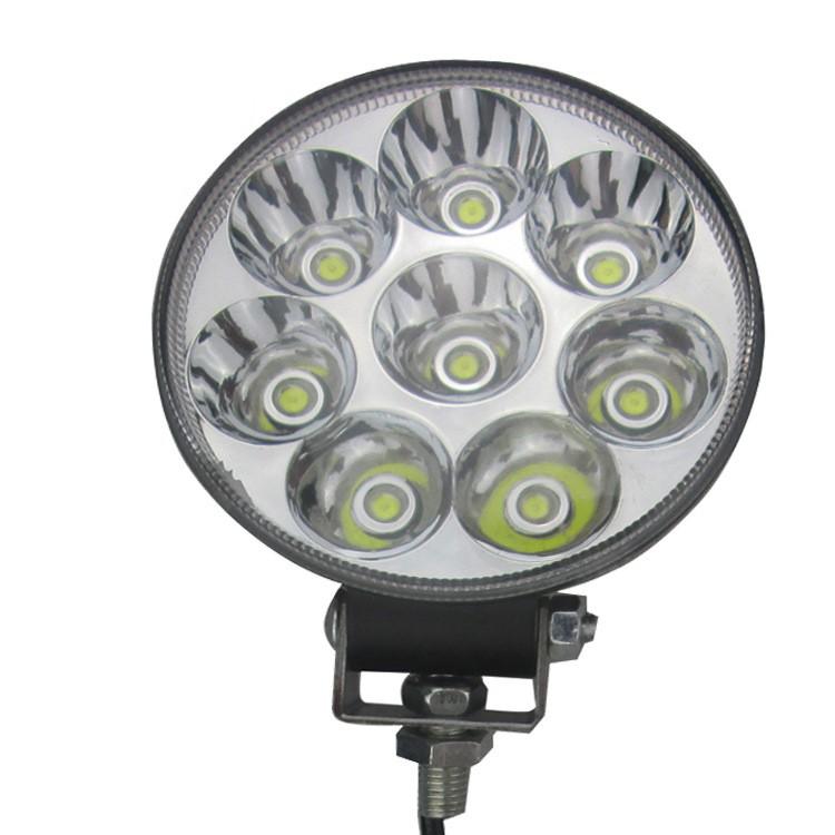 Đèn pha V8 Led tròn 36W siêu sáng xa