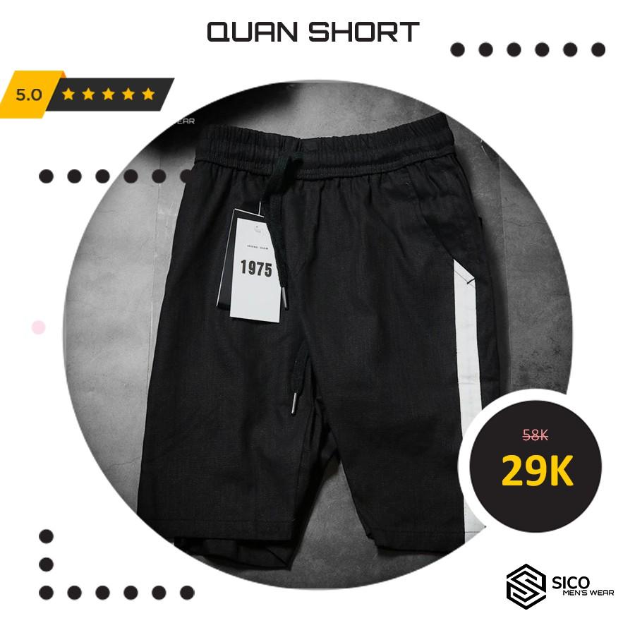 [ XẢ KHO QUẦN SHORT ] - Quần Short Đũi Thể Thao - SicoMenswear  - MẶC LÀ CHẤT CỰC THOẢI MÁI