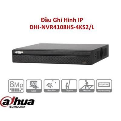 Đầu ghi hình camera IP 8 kênh DAHUA DHI-NVR4108HS-4KS2/L (Hàng chính hãng ) bảo hành 24th