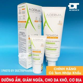 Kem dưỡng ẩm Aderma Exomega Control dành cho da khô, da cơ địa (chàm thể tạng) thumbnail