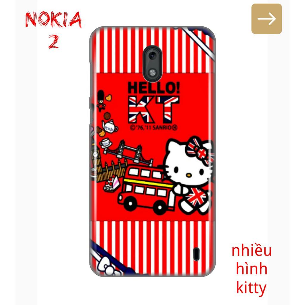 Ốp Lưng Nokia 2 Nhiều Hình Kitty Dể Thương