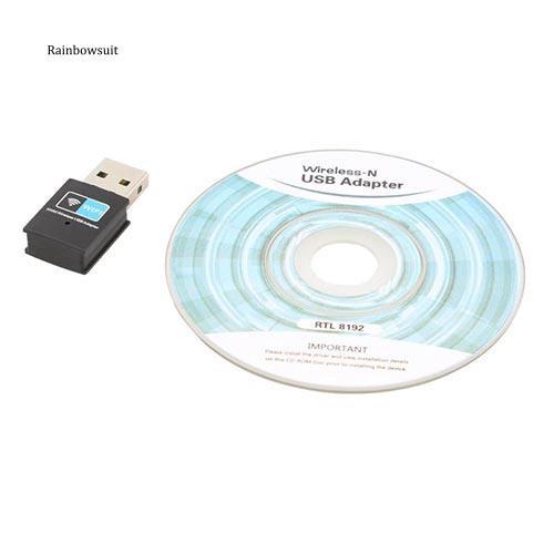 Bộ chuyển đổi USB Wifi không dây 300Mbps 802.11 B / G / N