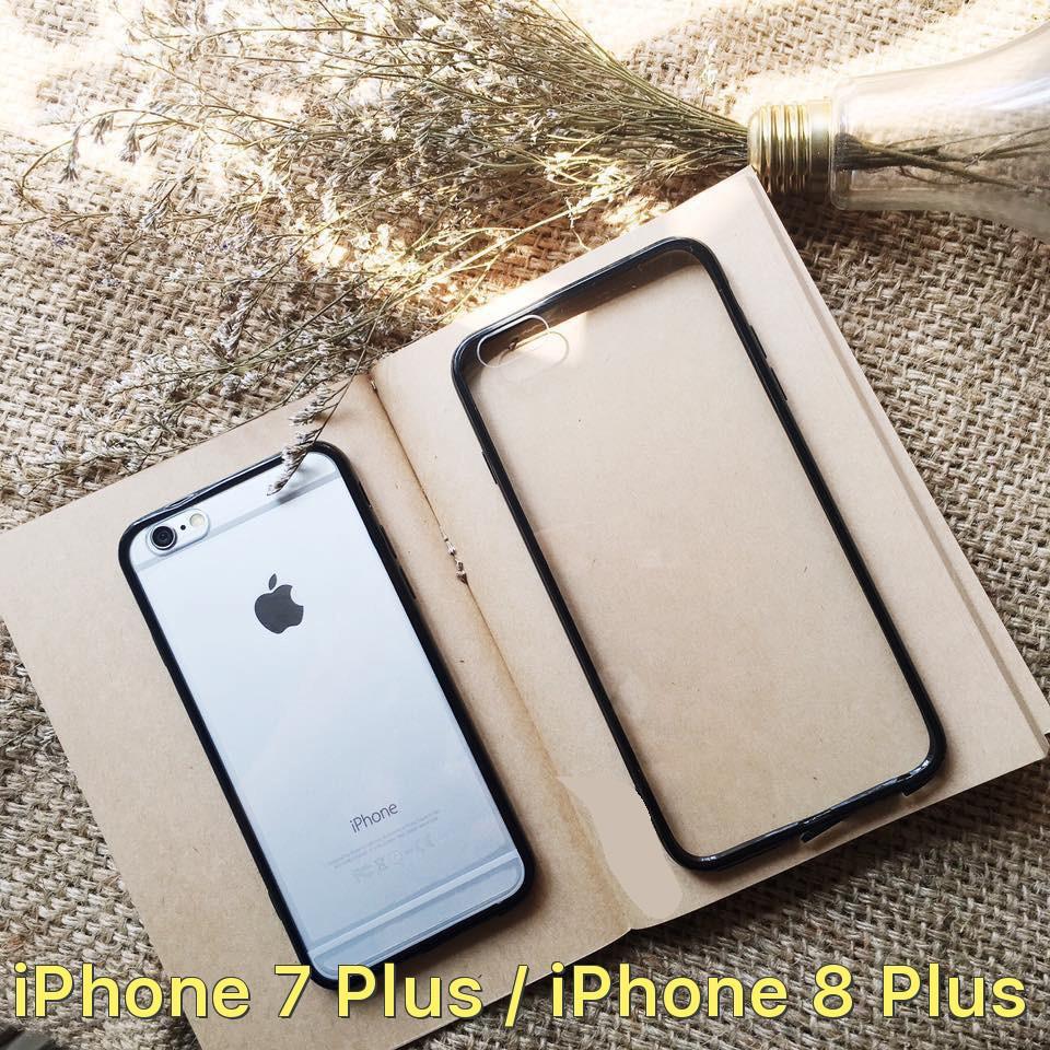 Ốp lưng trong suốt viền màu cho iPhone 7 Plus / iPhone 8 Plus - 2793335 , 834559494 , 322_834559494 , 29000 , Op-lung-trong-suot-vien-mau-cho-iPhone-7-Plus--iPhone-8-Plus-322_834559494 , shopee.vn , Ốp lưng trong suốt viền màu cho iPhone 7 Plus / iPhone 8 Plus