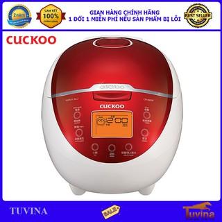 Nồi Cơm Điện Tử Cuckoo CR-0655F 1.08 Lít - Hàng Chính Hãng Cuckoo (Bảo Hành Toàn Quốc 2 Năm)