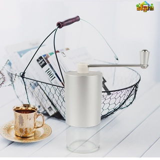 【COD】 Portable Coffee Grinder Aluminium Alloy Handheld Beans Mill