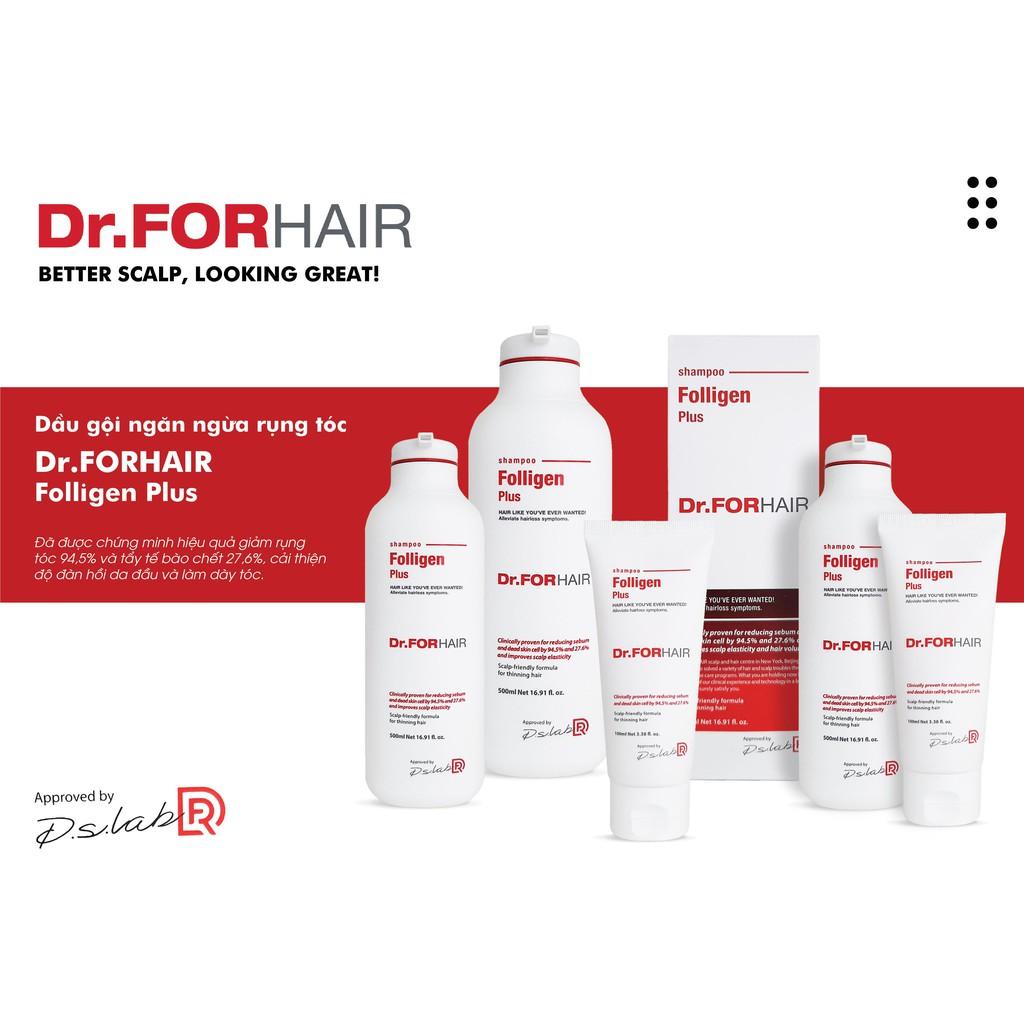 Dầu Gội Phục Hồi, Ngăn Rụng Tóc Dr.FORHAIR Folligen Plus Shampoo Số 1 Hàn  Quốc | Shopee Việt Nam