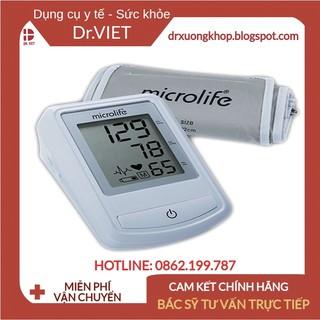 Máy đo huyết áp cho người cao tuổi Microlife BP 3NZ1-1P Hỗ trợ tầm soát loạn nhịp tim giúp cảnh báo sớm bệnh tim mạch thumbnail