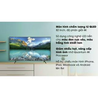 Smart tivi QLED Samsung 4K 82 inch QA82Q65R