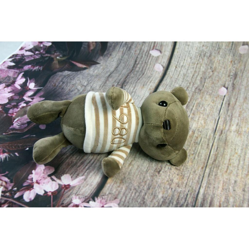 [GẤU BÔNG GIẢM GIÁ] Gấu bông Oenpe áo kẻ 1980 đáng yêu [Store 1688]