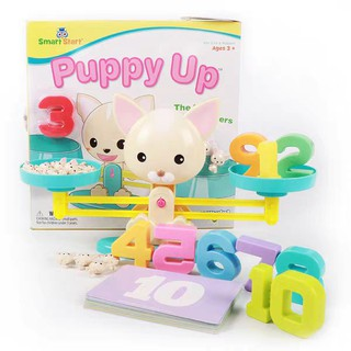 Bô đồ chơi cân bằng toán hoc – Puppy up