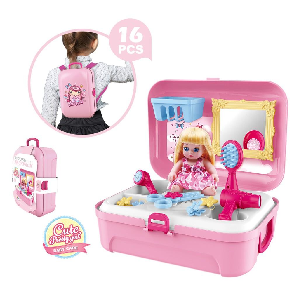Bộ đồ trang điểm và phụ kiện thời trang cho bé từ 3,5 tuổi