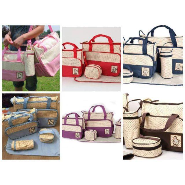 Sét túi 5 chi tiết cho mẹ và bé cực đẹp và tiện dụng - 3505082 , 740696759 , 322_740696759 , 195000 , Set-tui-5-chi-tiet-cho-me-va-be-cuc-dep-va-tien-dung-322_740696759 , shopee.vn , Sét túi 5 chi tiết cho mẹ và bé cực đẹp và tiện dụng