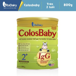 Combo 2 Sữa bột COLOSBABY GOLD 2+ (800G lon) thumbnail