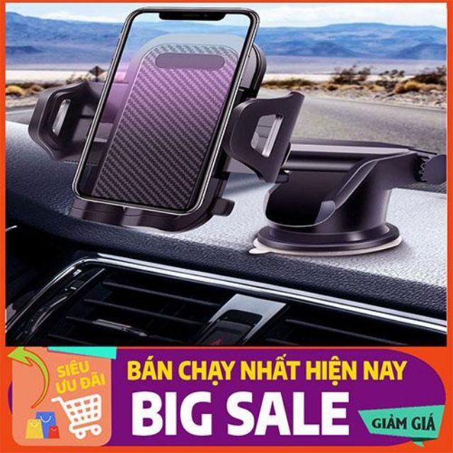 [HÀNG SIÊU CẤP]  Giá đỡ điện thoại trên ô tô, cao cấp xoay 360-đế hút chân không+keo dính chắc chắn-SIÊU THÔNG MINH