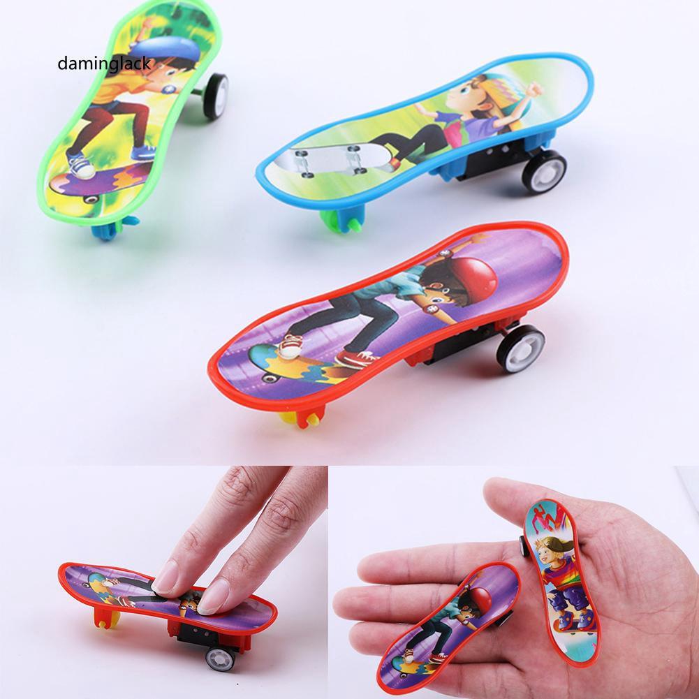DMGK_Professional Finger Skateboard Educational Kids Gift Mini Plastic Board Toy