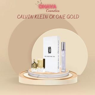 Tinh Dầu Nước Hoa Nam CALVIN KLEIN CK ONE GOLD 12ml Nam Tính Mạnh Mẽ thumbnail