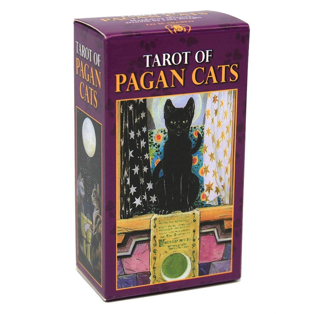 POWER Bộ Bài Tarot Tạo Hình Mèo Độc Đáo