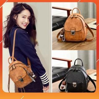 Balo nữ mini đẹp FREE SHIP Balo mini nữ phong cách Hàn Quốc T006 - CV Store thumbnail