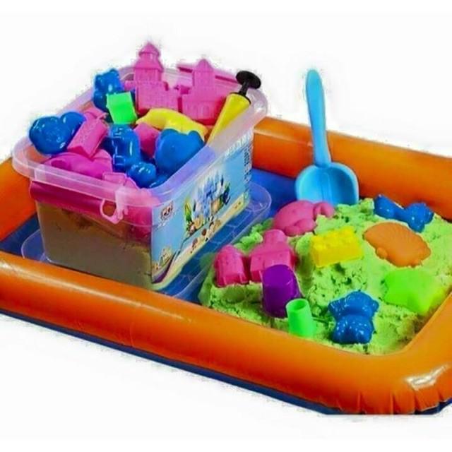 Combo 01 bộ đồ chơi khuôn cát động lực vi sinh an toàn cho bé