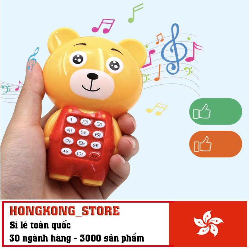 Điện thoại đồ chơi phát nhạc cho bé - Đồ chơi thông minh