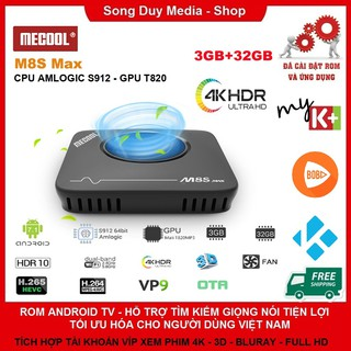 Mecool M8S PRO L – M8S MAX | Chip S912 | Ram 3gb | Bộ nhớ trong 32gb