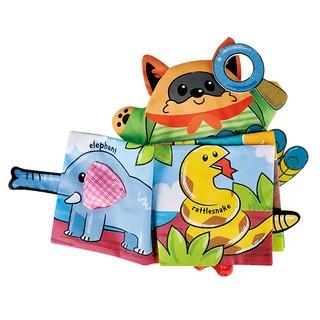 [Mã TOY1012 hoàn 10% xu đơn 99k] Sách vải HDY hình động vật 3D có âm thanh dạy học cho trẻ thumbnail