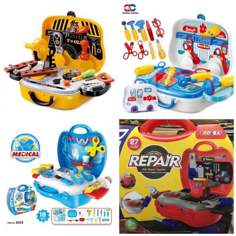 Bộ đồ chơi kĩ sư cơ khí/ Bộ đồ chơi bác sĩ