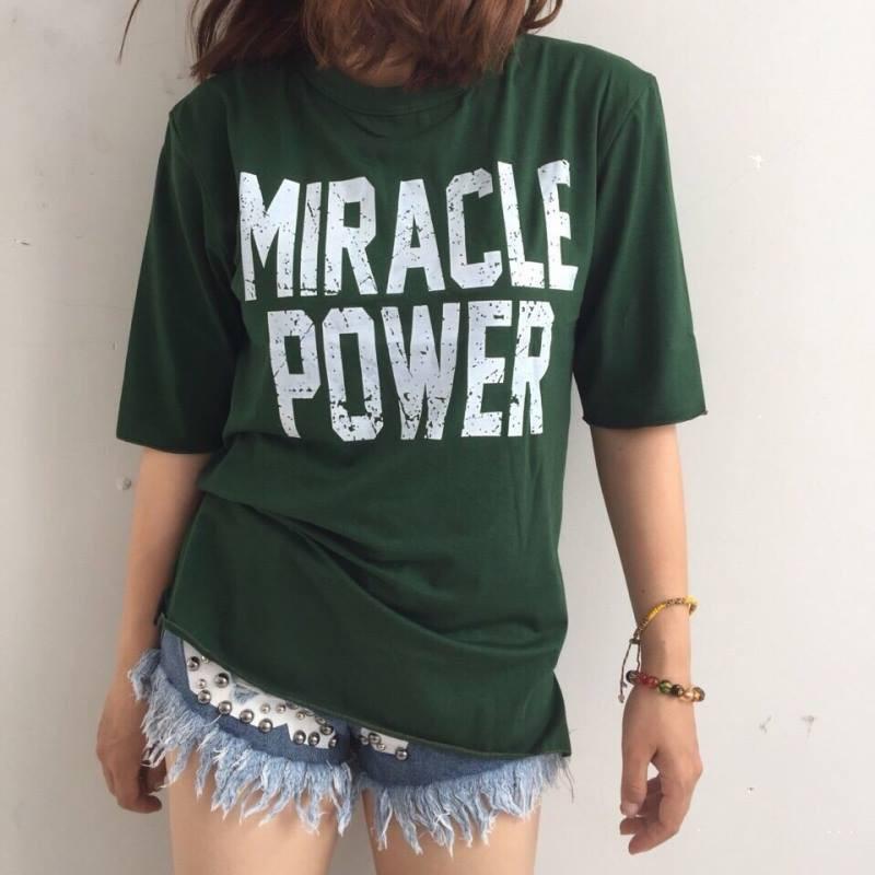 [Kèm hình thật] Áo tay lở Miracle Power