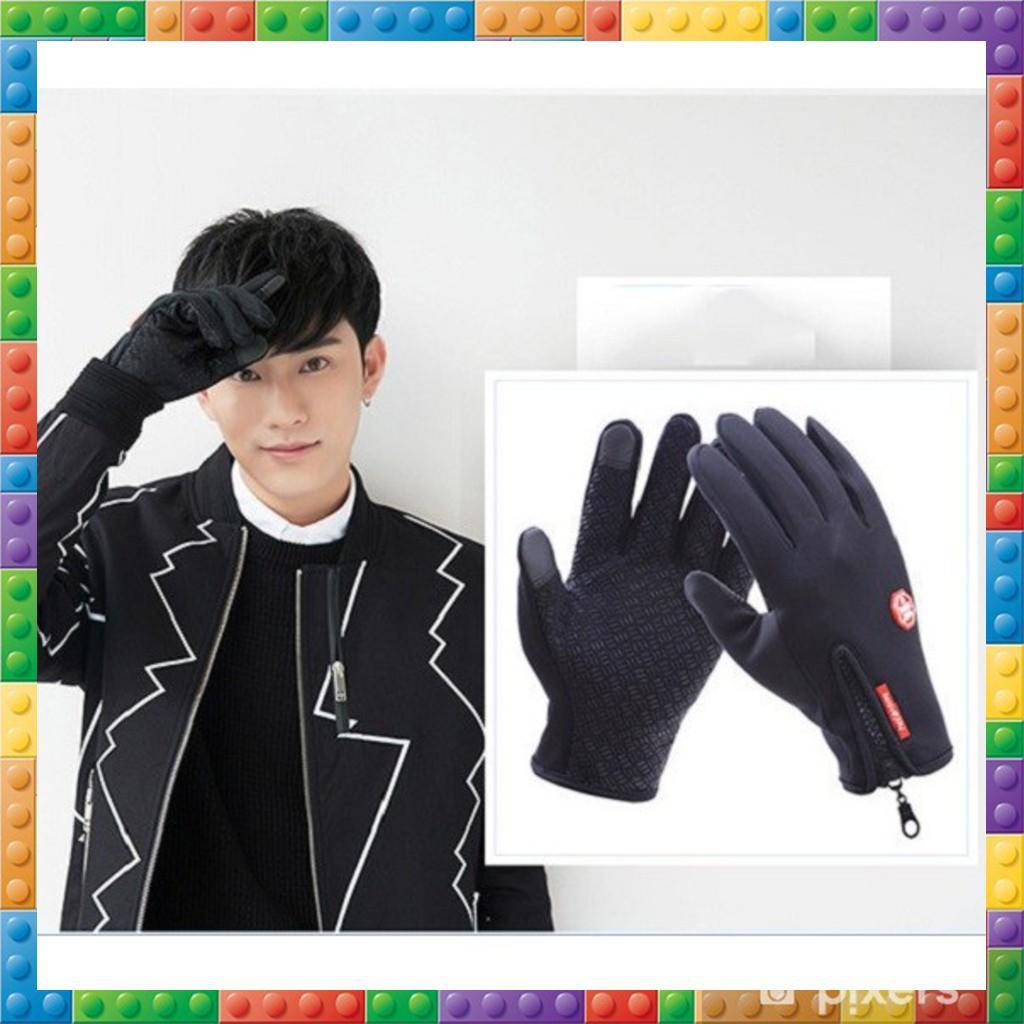 Găng tay chống nước có cảm ứng đa tiện lợi nhiều màu thời trang