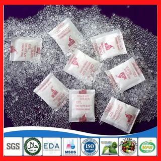 [Hot] Gói Hút Ẩm đóng túi 1Kg loại 1 2 3 5 10 50 100 200g Silicagel - Hạt chống ẩm mốc, khử mùi thumbnail
