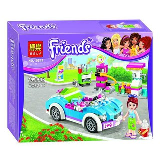 Xếp hình Lego My Friends No10574 Gồm 199 Chi Tiết. Lego Đồ Chơi Xếp Hình cho bé Gái hàng Quảng Châu