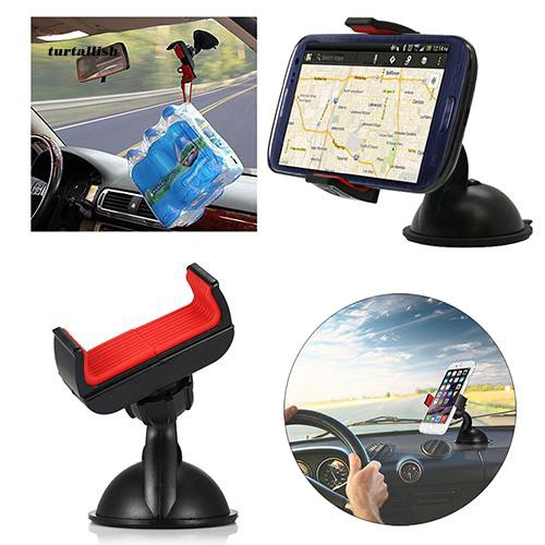 TUR♥360 Degree Rotated Car Holder Windshield Mount Bracket Stand for Cell Phone GPS